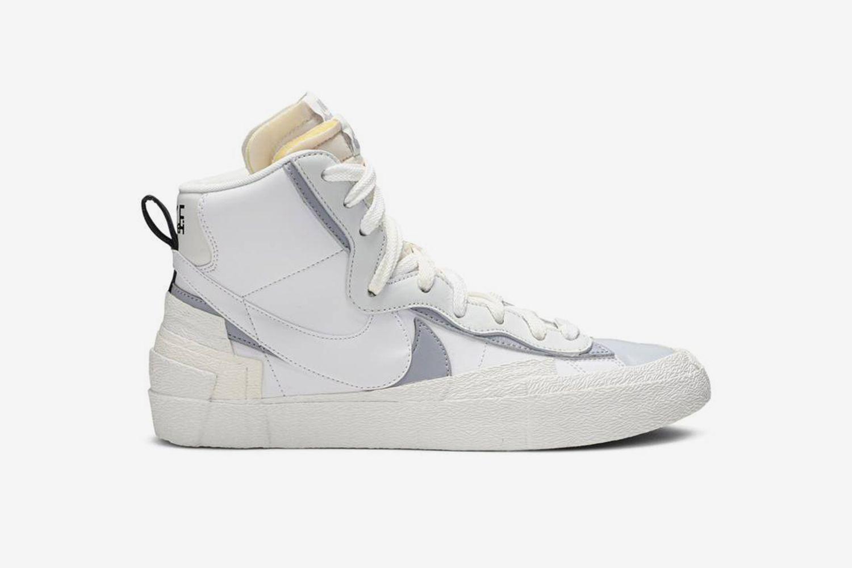 Blazer Mid 'White Grey'