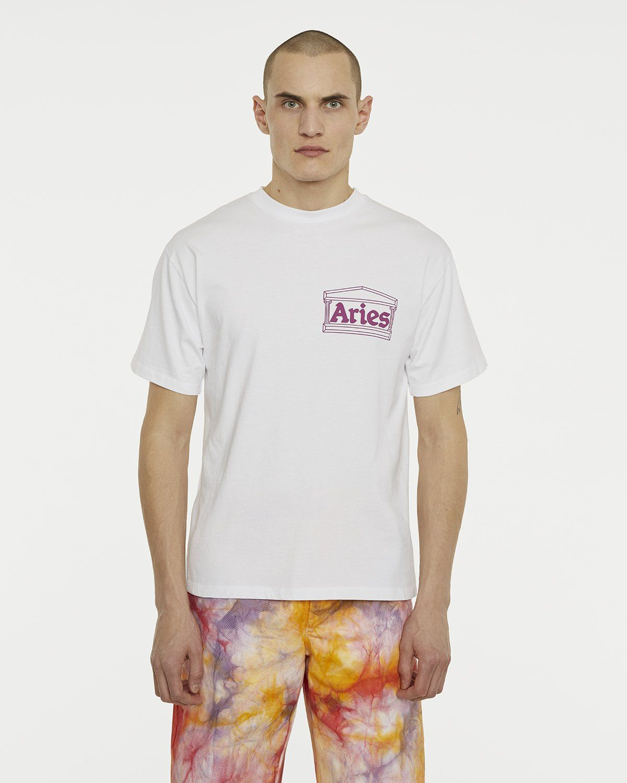 Aries — Temple Tee White - Image 3