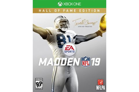 promo code 81042 8d151 Terrell Owens Is the Face of  Madden NFL 19 Hall of Fame Edition