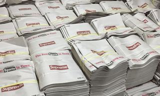 Supreme x 'New York Post' Could Be the Most Brilliant Collab of the Year, Here's Why
