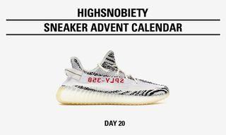 "e8c997b55f430 Sneakers. Win the adidas Originals YEEZY Boost 350 V2 ""Zebra"" in Today s  Highsnobiety Advent Calendar"