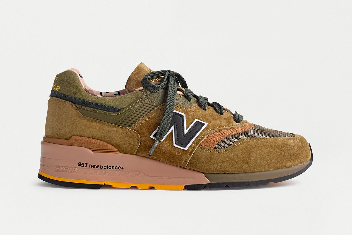 "EXCLUSIVE: J.Crew & New Balance Unveil a Pack of ""Animal Instincts"" 997s 1"