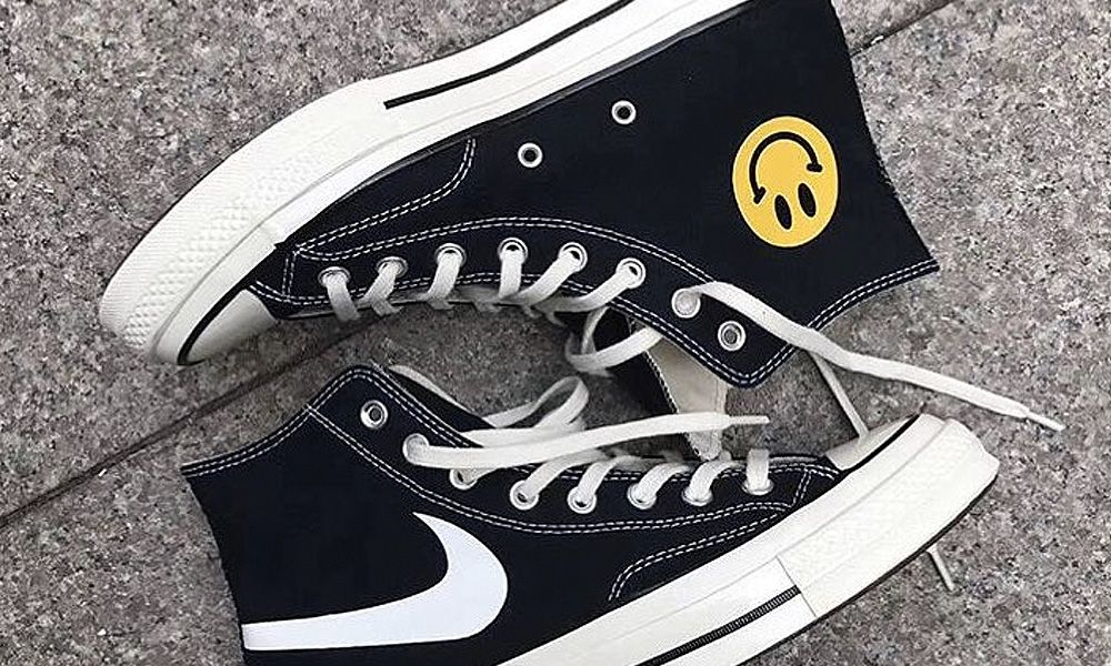This Custom Converse All-Star is the Ultimate Mashup