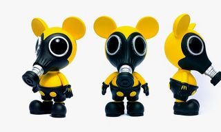 Made by Monsters x Ron English Biohazard Mousemask Murphy