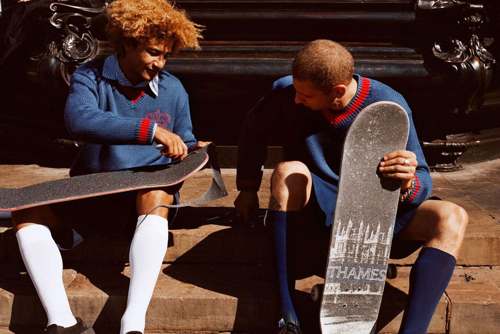 THAMES MMXX knit sweater skateboard