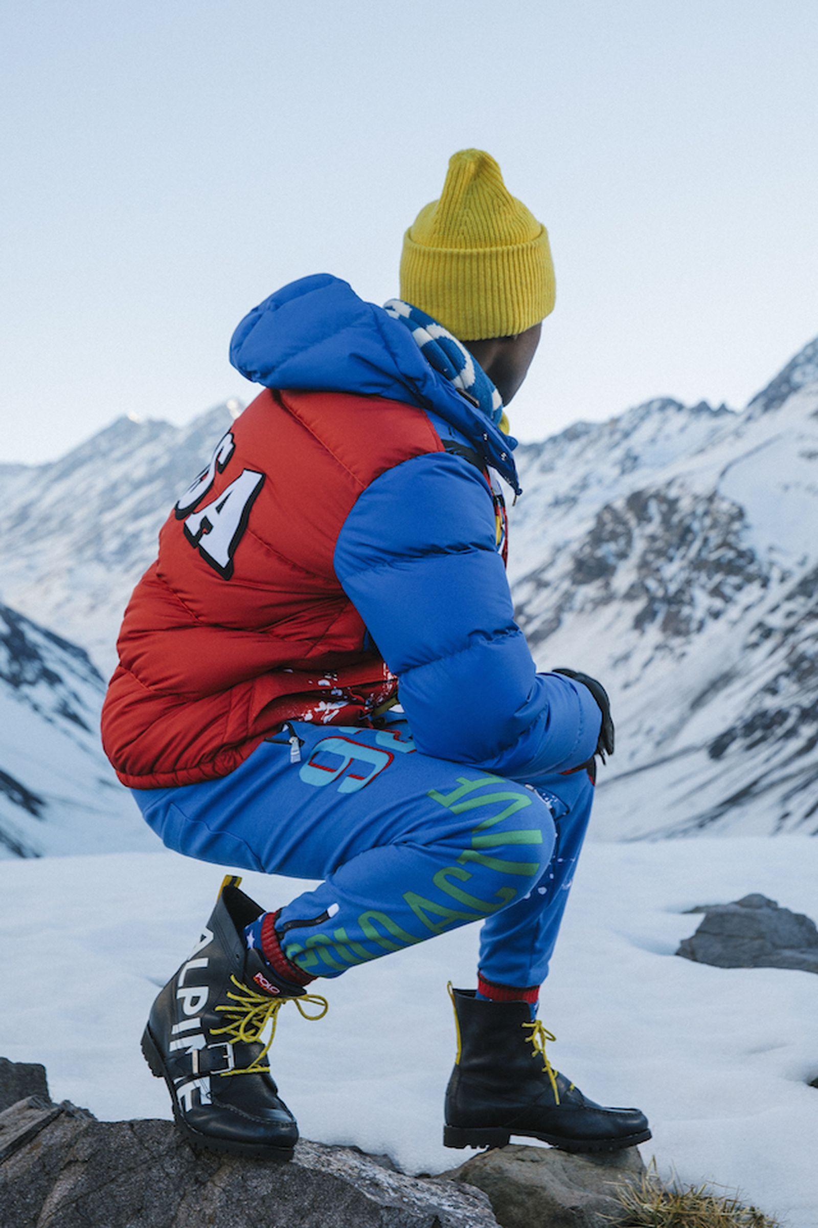 polo ralph lauren fw18 downhill skier capsule