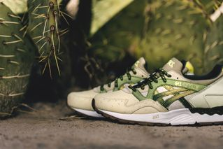 """the best attitude abe4d d6d74 6 more. Previous Next. Premium sneaker retailer Feature has unveiled its  first collaborative project with ASICS: the GEL-Lyte V """"Prickly Pear."""