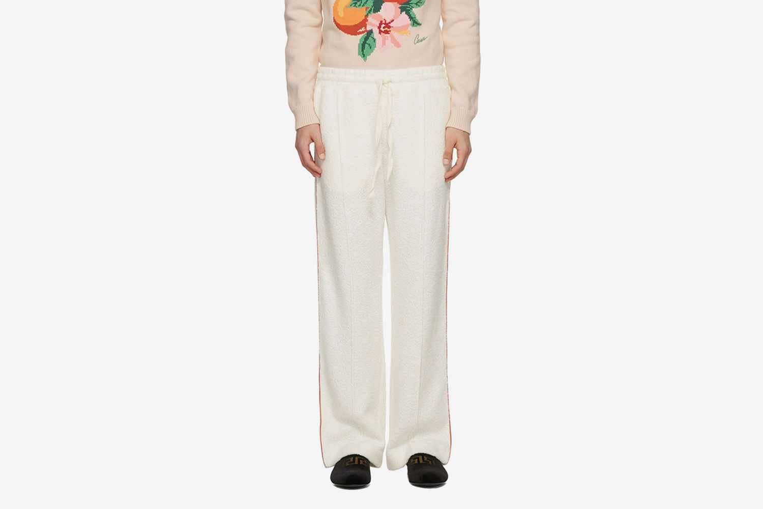 Piped Terry Lounge Pants