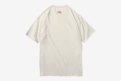 Retro Mr.Li Printing Photo T-Shirt