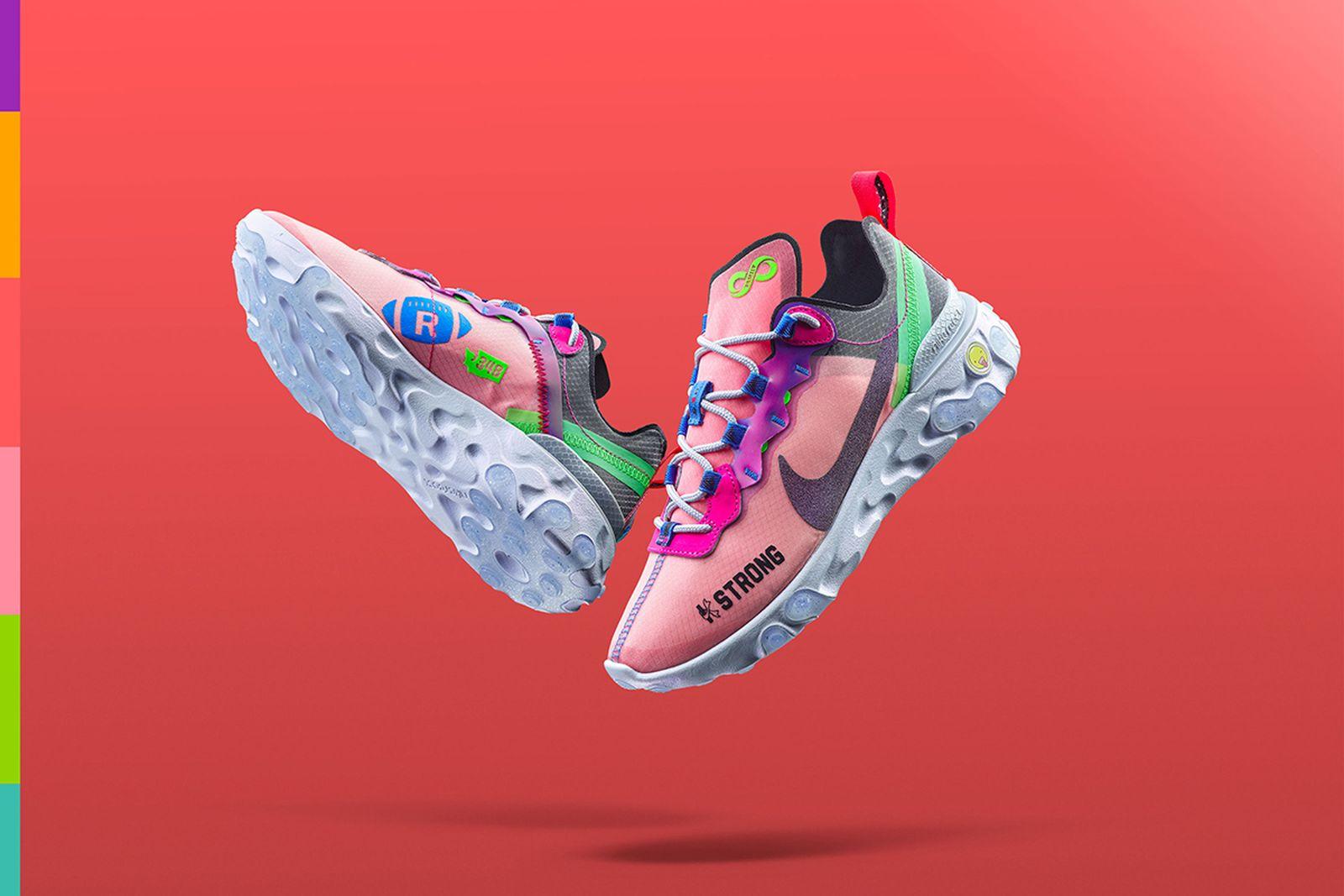 Nike Doernbecher Freestyle 2019 React Element 55