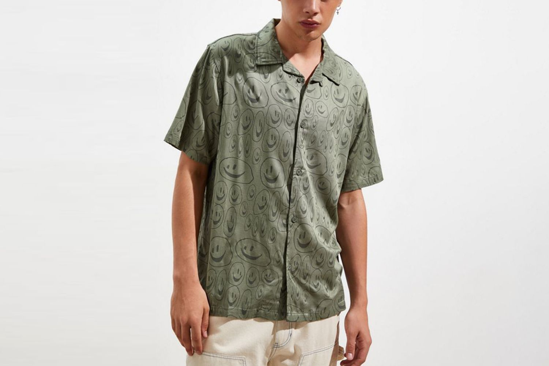 Squish Face Bowling Short Sleeve Shirt