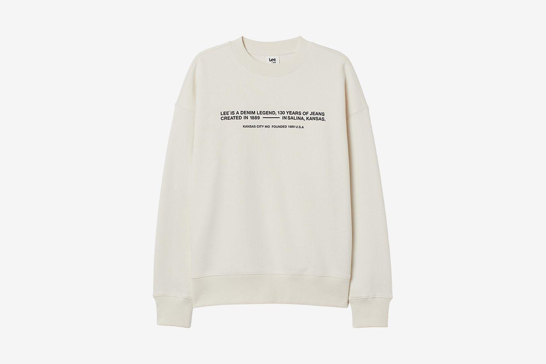 Lee x H&M Sweatshirt