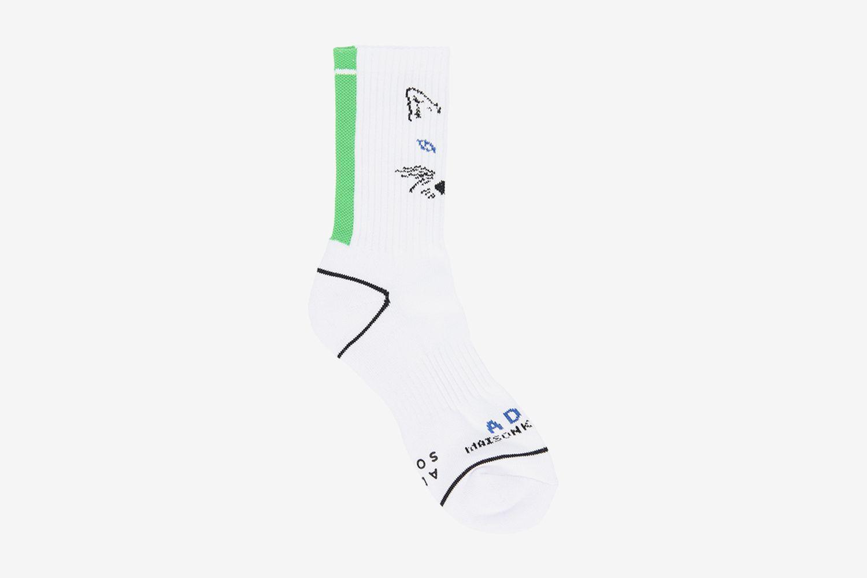 Fox Mustache Socks