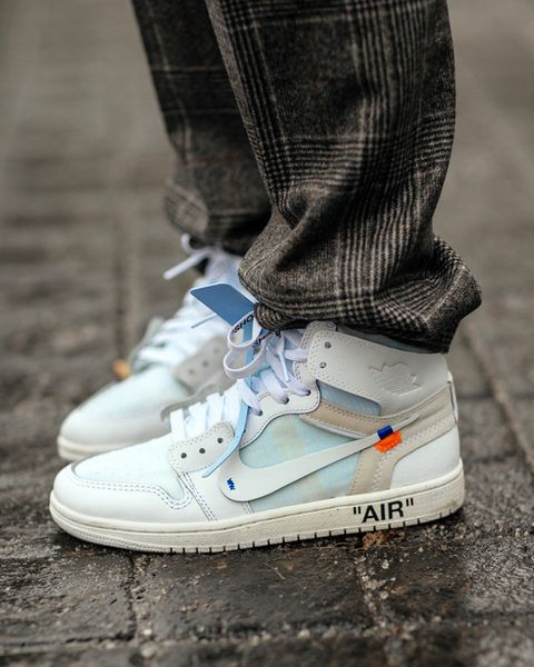 "ad795c338db OFF-WHITE x Nike Air Jordan 1 ""White"" (EU exclusive)"
