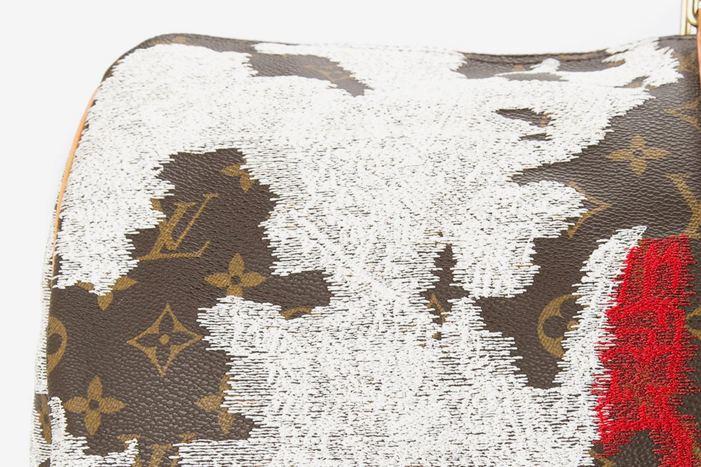 Japan Flag Vintage Louis Vuitton Keepall