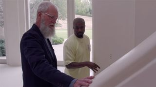 kanye west home tour letterman David Letterman My Next Guest Needs No Introduction