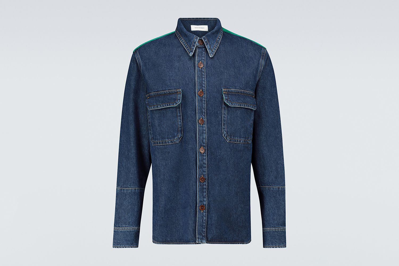 Dub Contrast Denim Shirt