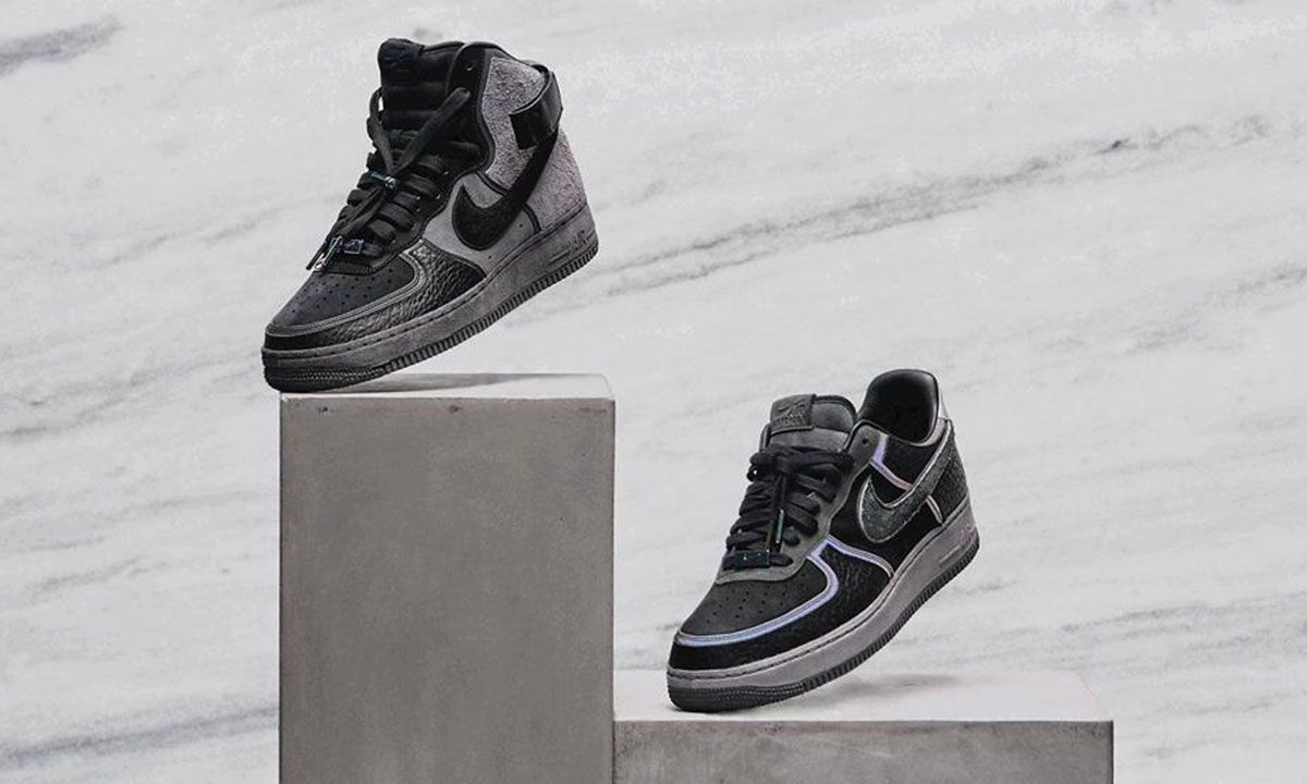 """A Ma Maniere and Nike Unveil Highly Limited """"Hand Wash Cold"""" Air Force 1"""