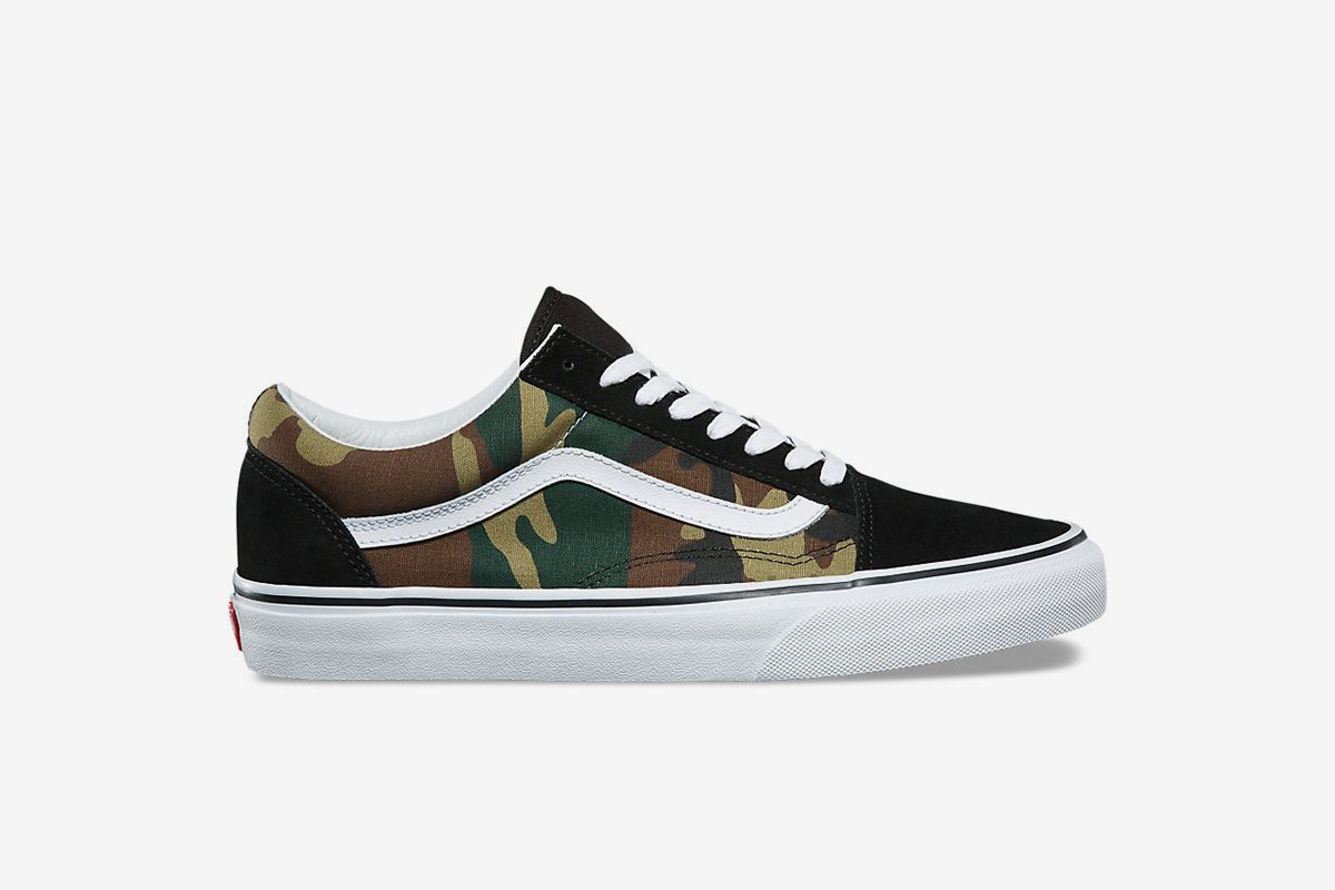 Woodland Camo Old Skool