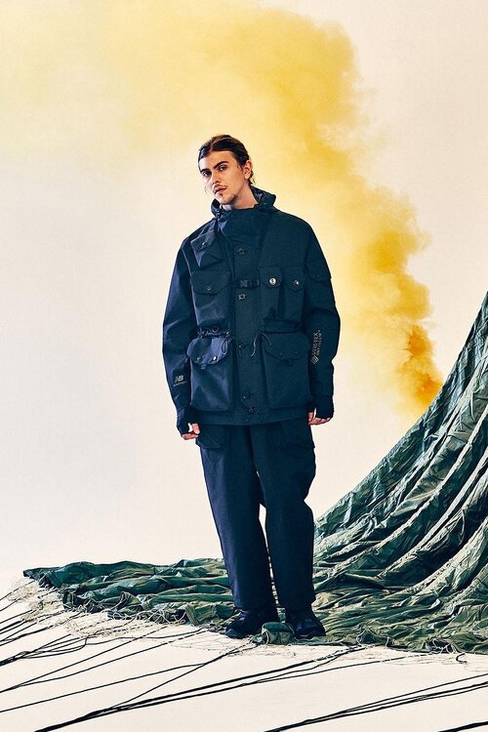 New Balance Eastlogue Rigger Made black jacket