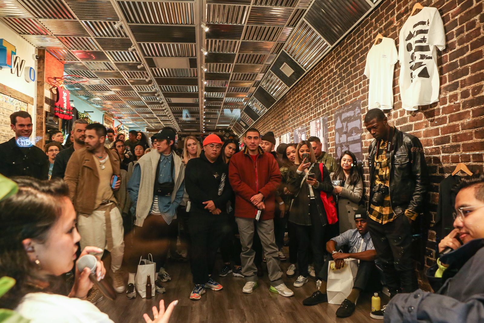 round two highsnobiety merch collab book launch The Incomplete Highsnobiety Guide to Street Fashion and Culture chinatown market collaborations
