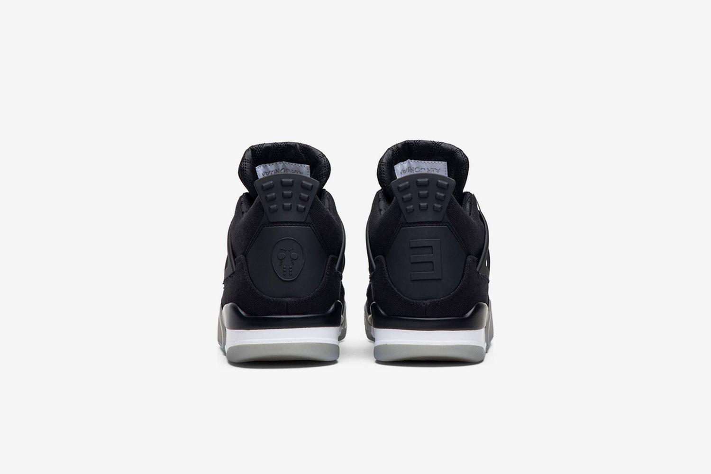 Air Jordan 4 'Black Chrome'