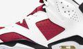 """The """"Carmine"""" Air Jordan 6 With """"Nike Air"""" Drops Soon"""