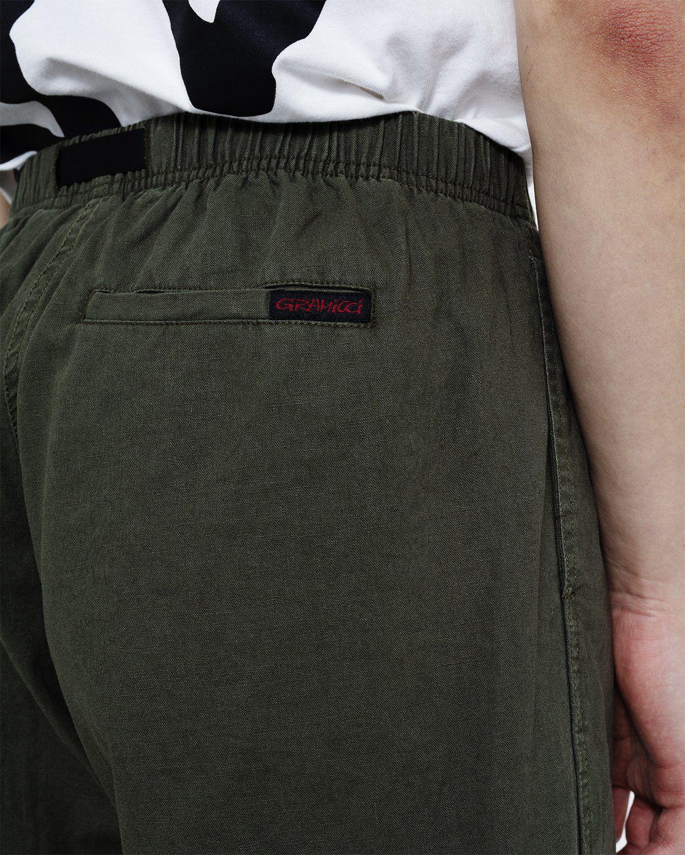 Gramicci - Linen Cotton G-Shorts Olive - Image 3