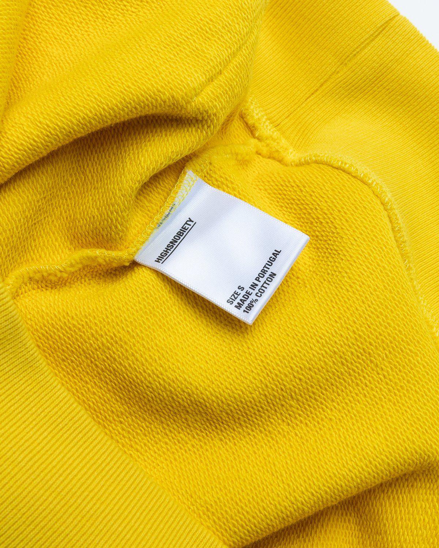 Highsnobiety x Keith Haring – Hoodie Yellow - Image 5