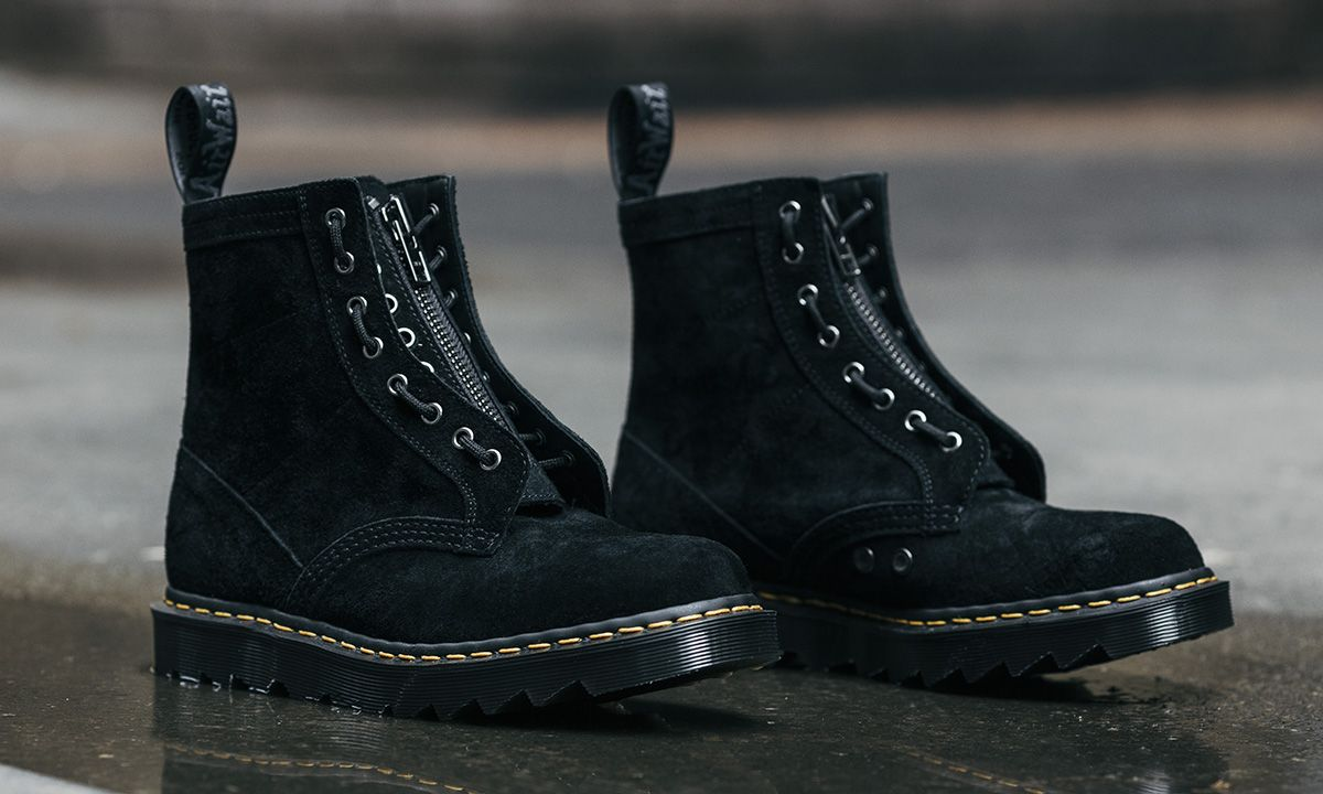 HAVEN Adds a Zipper to Dr. Martens' Iconic 1460 Boot