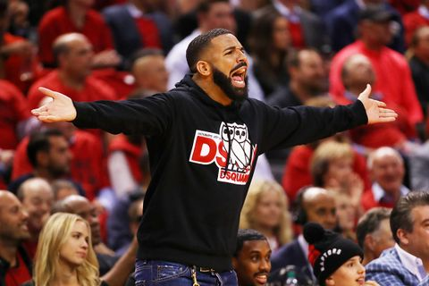 Drake Trolls Gucci Mane Celebrating Toronto Raptors