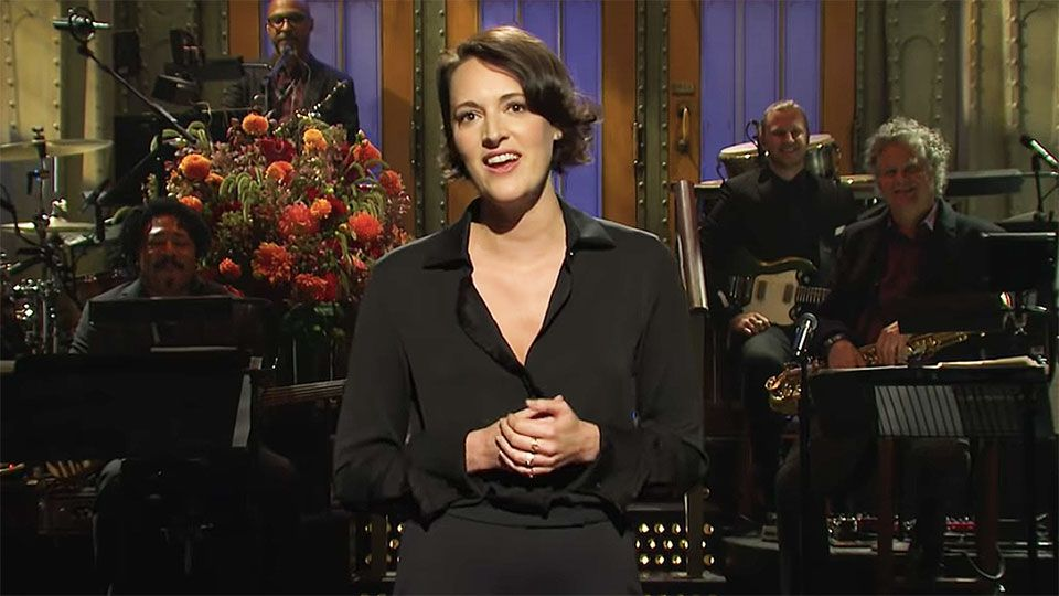 Watch All of Phoebe Waller-Bridge's Hilarious 'Saturday Night Live' Sketches Here