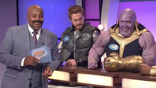game of thrones avengers family feud snl saturday night live