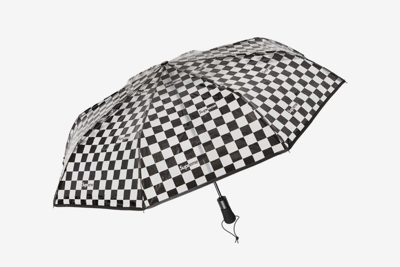 Transparent Checkerboard Umbrella