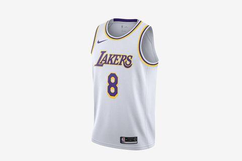 Kobe Bryant Lakers Association Edition Nike NBA Swingman Jersey