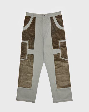 JACQUEMUS - Le Pantalon Bellu  Green