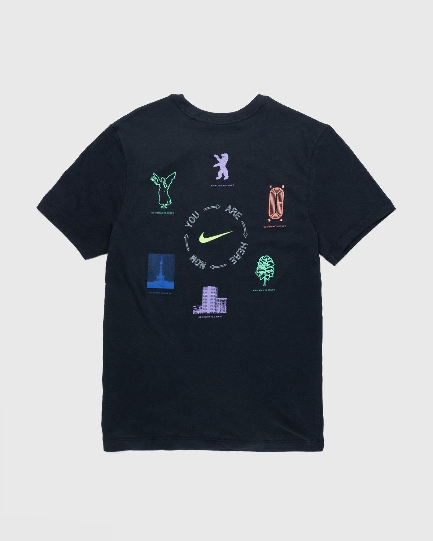 Nike x Highsnobiety – Dri-Fit Berlin T-Shirt Black - Image 2