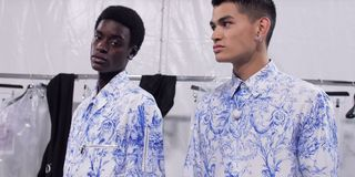 Daniel Arsham Discusses His Dior Collab Backstage at Paris Fashion Week SS20