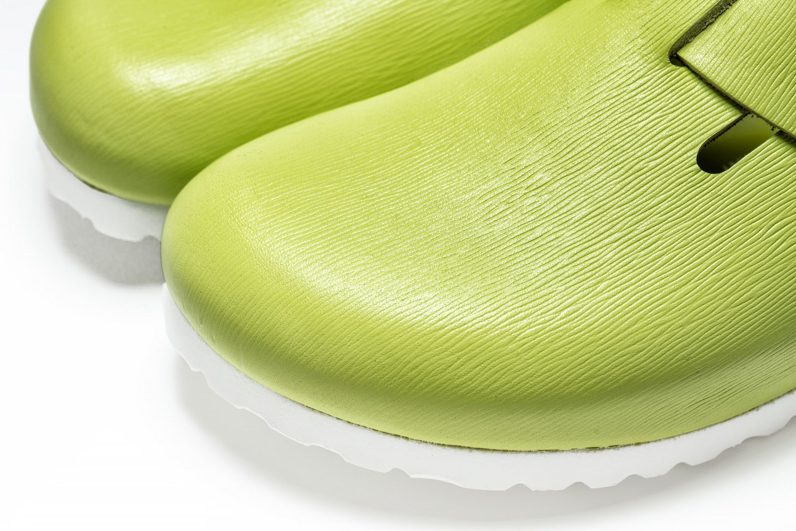 concepts birkenstock lime grooved leather boston release date price info