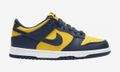"""Nike's Dunk Low """"Michigan"""" Doesn't Need a Virgil Zip-Tie"""