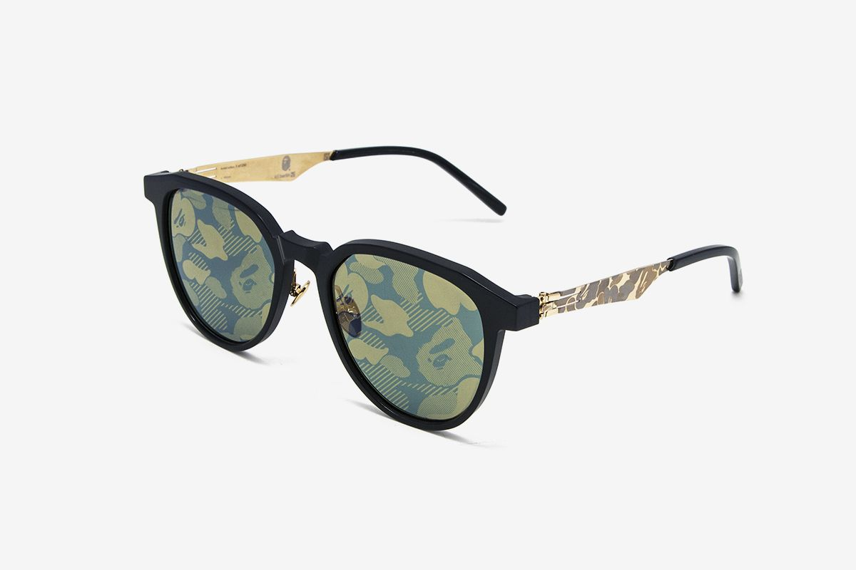 BAPE & ic! berlin Are Releasing New Camo Glasses This Weekend