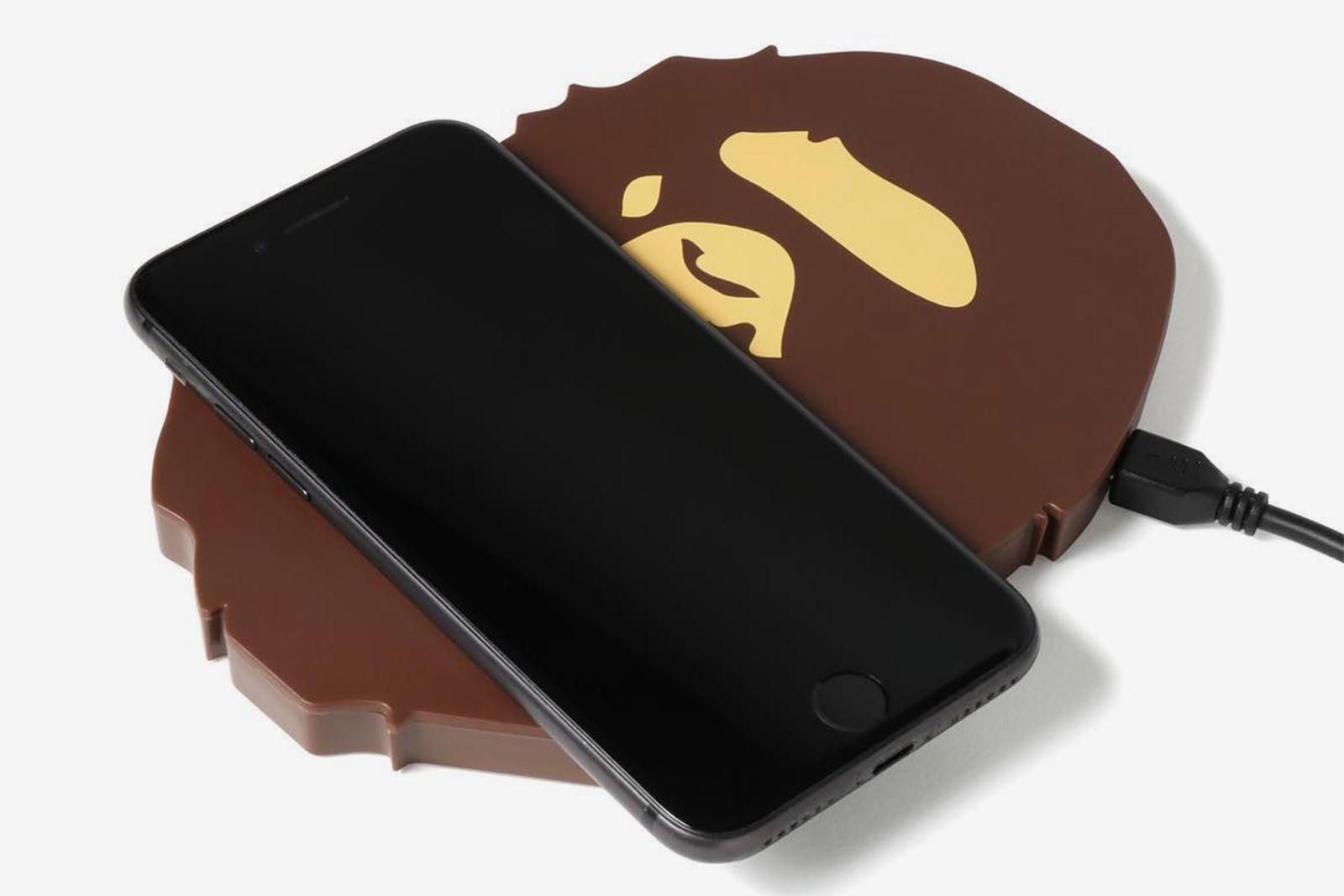 bape ape head wireless charger
