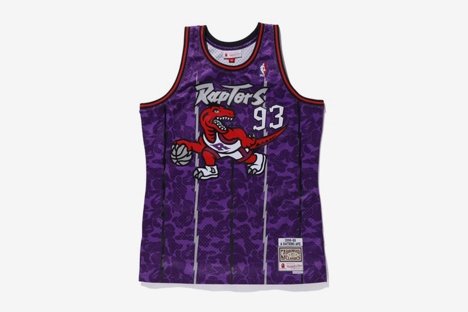 Raptors Camo Basketball Swingman Jersey