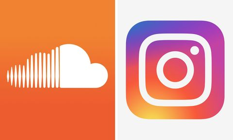 soundclound instagram integration soundcloud