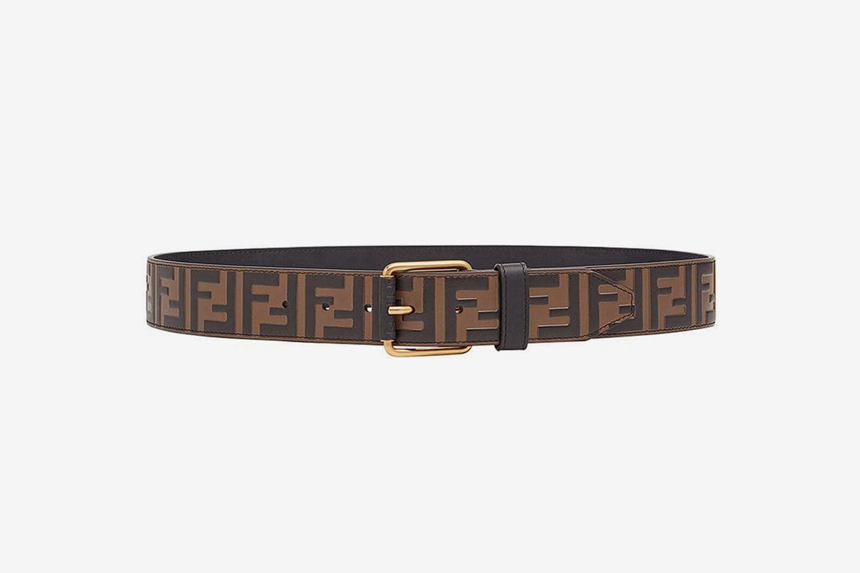 Embossed FF Logo Belt