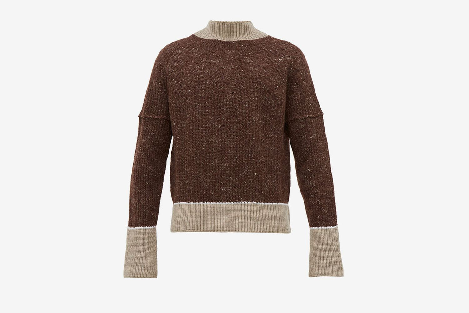 Pierre Deconstructed Merino Wool Sweater