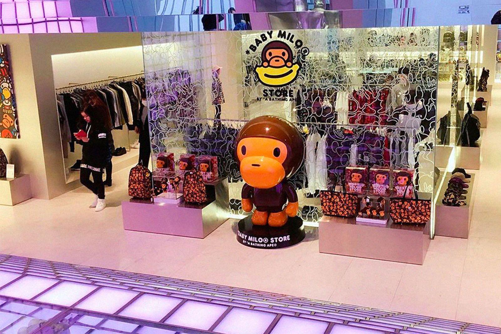 A Bathing Ape Shibuya 2 prov the real mccoys have a good time