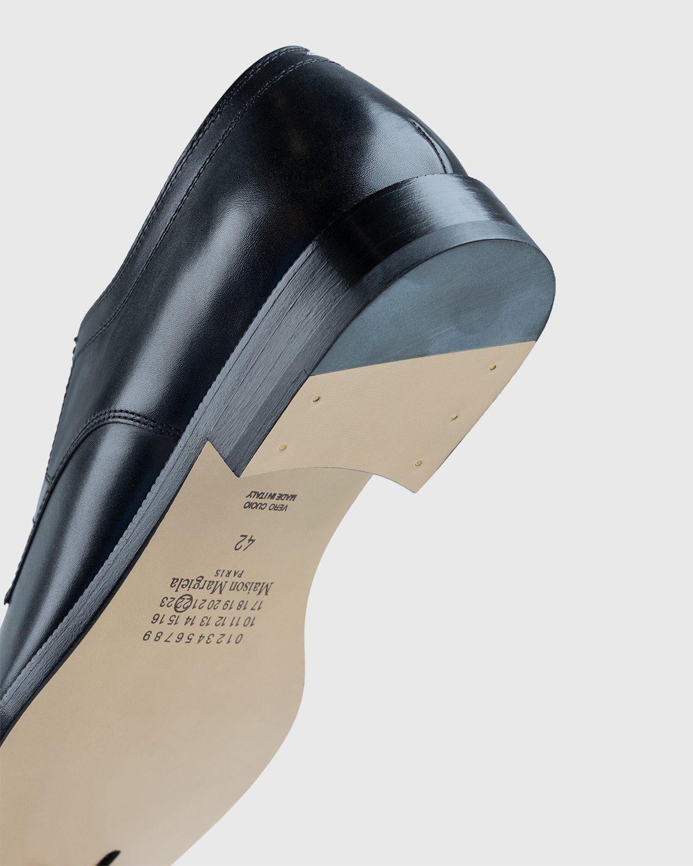 Maison Margiela – Tabi Lace-up Shoes Black - Image 6