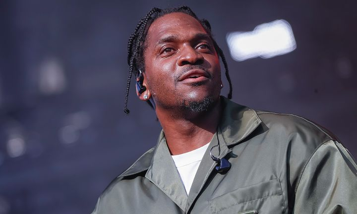 Pusha-T onstage