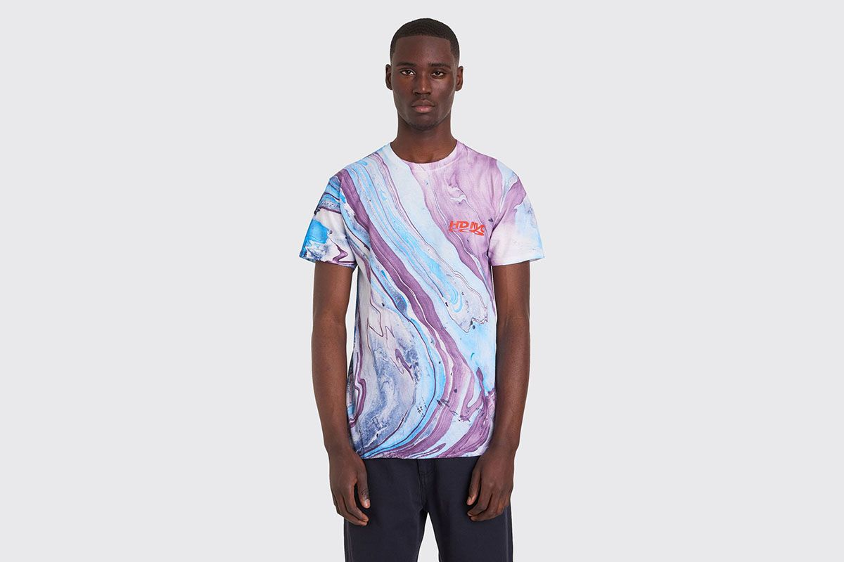 These Hand-Dyed Marbled T-Shirts Need to Be in Your Spring Rotation
